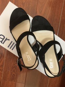 Black Block Heel Sandals for Sale in El Monte,  CA