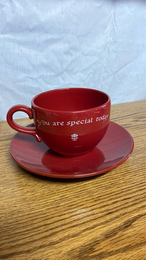 """Vintage 1979 Waechtersbach Germany """"You are Special Today"""" Mug & Plate for Sale in Alexandria, VA"""