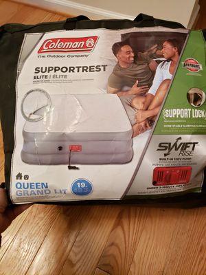 Colman queen air mattress for Sale in Dumfries, VA