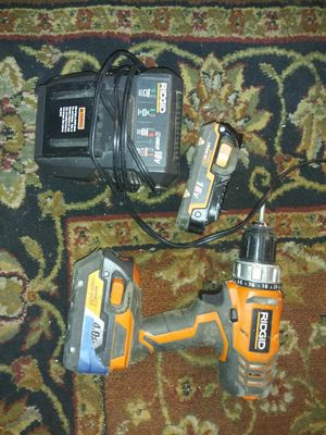 Ridgid drill for Sale in DW GDNS, TX