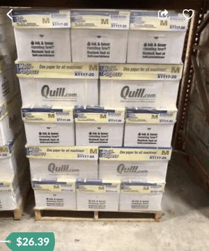 Copy paper 10 ream 5000 sheets for Sale in Denver, CO