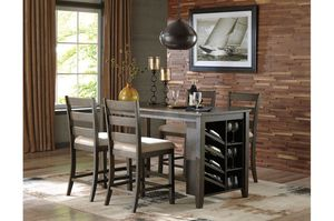 5pc Rokane Counter-Height Dining Set by Ashley for Sale in Buffalo, NY