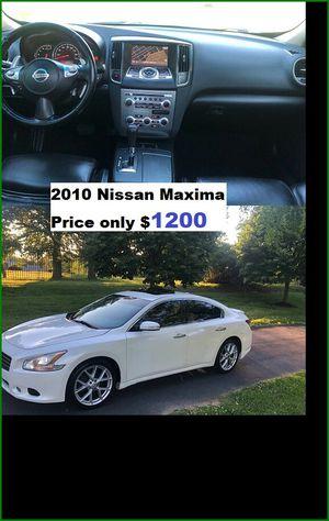 ֆ12OO_2010 Nissan Maxima S for Sale in Wichita, KS