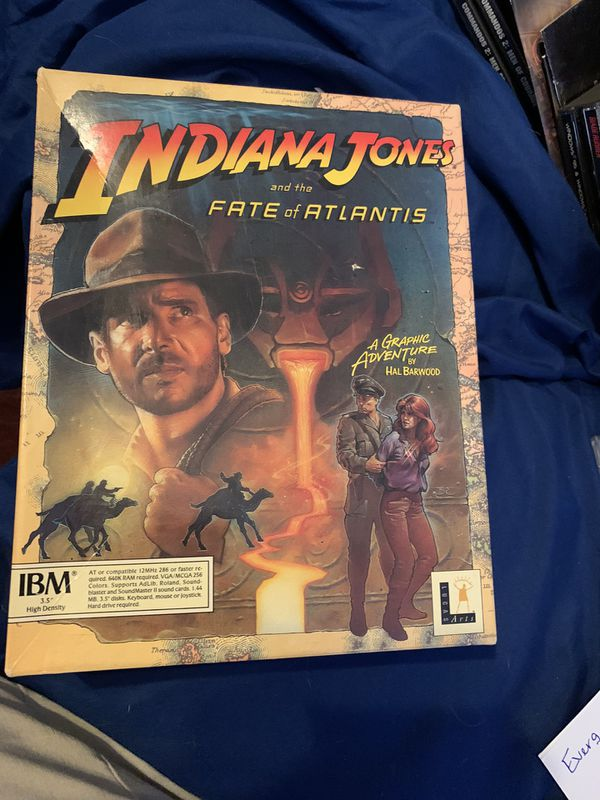 Vintage Indiana Jones PC Games