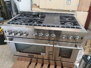 Double oven Stainless steel kucht professional 48 inches for Sale in Norwalk, CA
