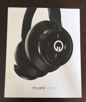 Muzik One WIRELESS BLUETOOTH Headphones for Sale in Los Angeles, CA