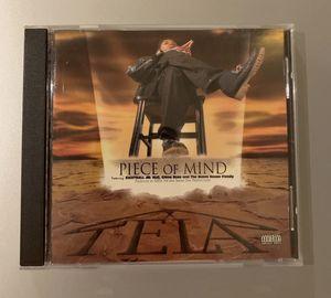 Tela - Piece Of Mind CD OG 1st Pressing Rap Hip Hop CD for Sale in Lancaster, PA