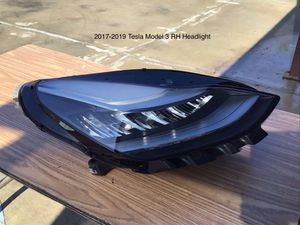 2017-2019 Tesla Model 3 LED Driver and Passenger Headlights for Sale in Jurupa Valley, CA