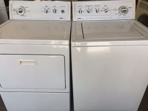 Kenmore commercial washer & Electric Dryer set for Sale in Escondido, CA