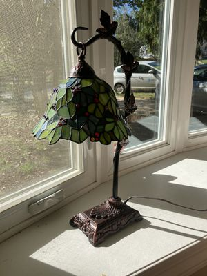 Stain glass lamp for Sale in Beltsville, MD