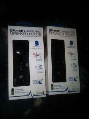 Brand New Bluetooth handsfree speaker phone for Sale in Tulare, CA