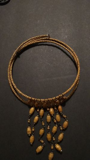 Beautiful wood bead choker for Sale in Port Richey, FL