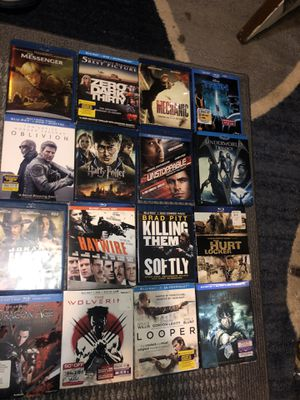 Brand new Blu Ray DVD sealed packages for Sale in Kent, WA