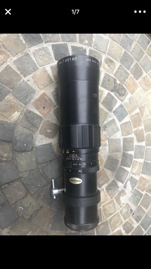 350mm lens (M42 Screw Mount) for Sale in Philadelphia, PA