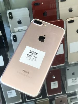 Rose Gold IPhone 7 Plus 128GB(CARRIER UNLOCKED) for Sale in Rancho Cordova, CA