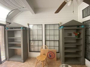 Bookshelves and Table Office Furniture Set for Sale in Irving, TX