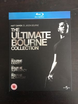 The Ultimate Bourne Collection Blu-Ray for Sale in Pasadena, CA