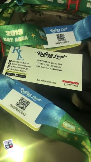 Rolling loud Bay Area ticket for Sale in Paramount, CA