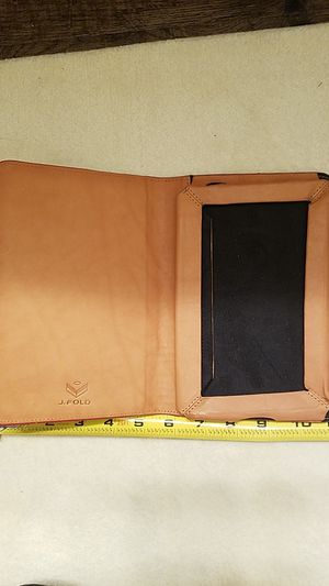 J. Fold leather note pad case for Sale in Plano, TX