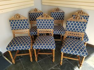 Antique Dining chairs, very unusual for Sale in Seattle, WA