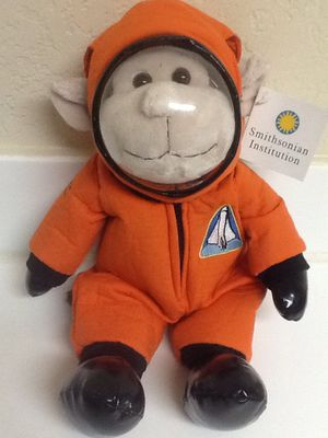 "MONKEY ASTRONAUT 15"" Plush Stuffed Animal - Space Smithsonian Institution New! for Sale in Las Vegas, NV"