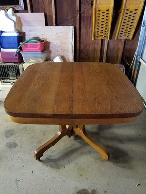 Tilt Top Twins Oak table for Sale in Wichita, KS