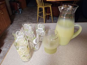 Vintage Lemonade Set -Glass Ware for Sale in McMinnville, OR
