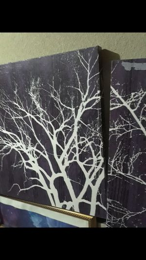 Whispering Willows wall decor $ 20.00 cash only (serious buyers) for Sale in Dallas, TX