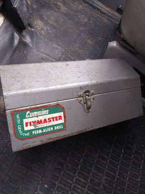 Vintage - tool box w/drill for Sale in Obetz, OH