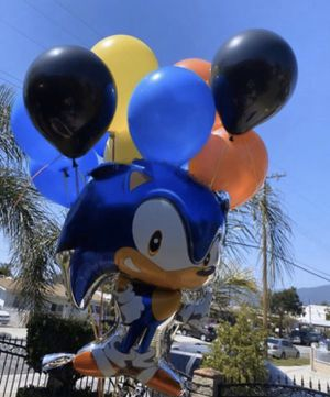 Sonic The Hedgehog Balloon Arrangement for Sale in Irwindale, CA