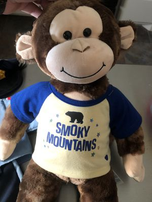 Build A Bear Monkey and outfits for Sale in Pearland, TX