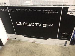 "77"" oled lg 4k smart tv for Sale in Norwalk, CA"
