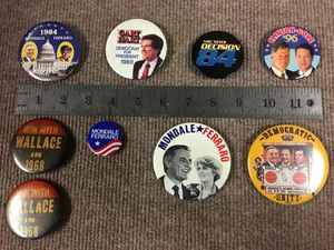Political Buttons/Pins for Sale in Federal Way, WA