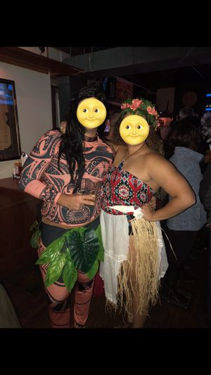 Moana and Maui Halloween costume for Sale in Cleveland, OH