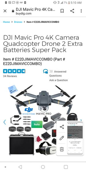 Dji Mavic Pro for Sale in Oxnard, CA