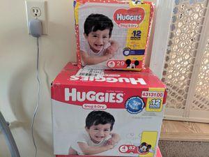 Huggies size 4 for Sale in Newport News, VA