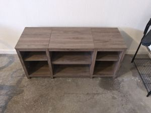 Mainstays entertainment unit (Wal-Mart) for Sale in Perrysburg, OH