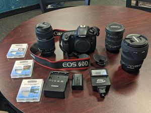 Full Canon 60d set up for Sale in Monroe, WA