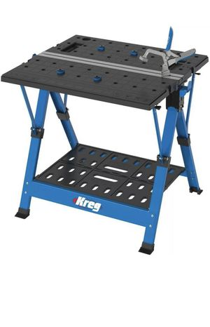 Portable Workbench 2.6 Ft. Multi-Purpose Jobsite construction contractor Mobile Project Center saw table for Sale in Santa Ana, CA