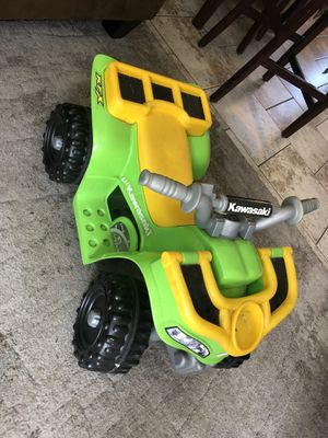 Power wheels lil Kawasaki quad for toddlers 6v for Sale in San Diego, CA