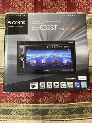 """Mirrorlink with Samsung / iPhone / HTC / Sony Sony Dash 6.7"""" Touchscreen LCD Bluetooth DVD Receiver w/ MirrorLink & 5 Volt Preamp Outputs for Sale in Mesquite, TX"""