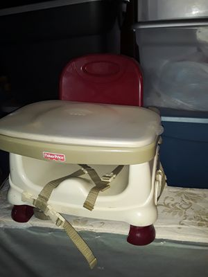 Fisher Price snap on booster seat high chair for Sale in Laurence Harbor, NJ