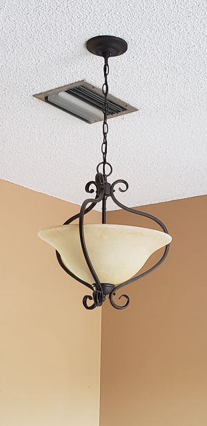 Bronze framed chandelier for Sale in Pembroke Pines, FL