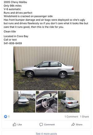 2003 Chevy Malibu for Sale in La Pine, OR