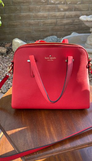 Purse, Kate spade red for Sale in Temecula, CA