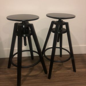 Bar Stools, Black for Sale in Los Angeles, CA