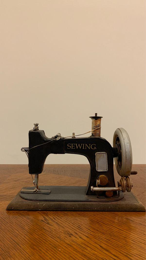 Model sewing machine