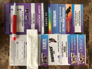 Brand new 4k digital movies code $8 each for Sale in Dania Beach, FL