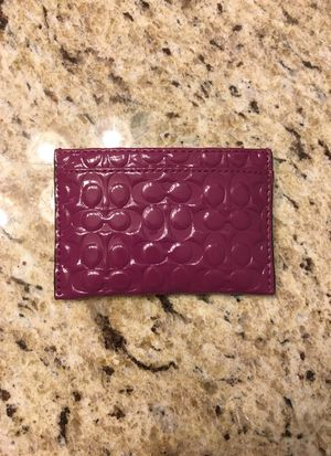 Coach Small Travel Pouch/Wallet for Sale in Nashville, TN