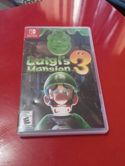 Luigis Mansion Nintendo Switch for Sale in Lakewood,  CA
